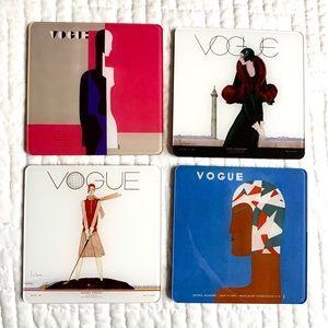 Vogue Art Deco style Coasters - 1929 images